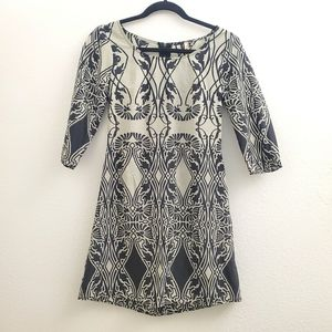 Pauln KC Mod Floral Print A-Line Shift Dress D20